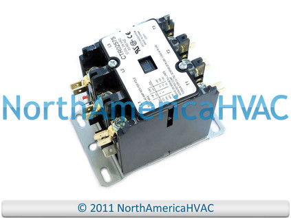 trane american standard condenser contactor relay 3 pole. Black Bedroom Furniture Sets. Home Design Ideas