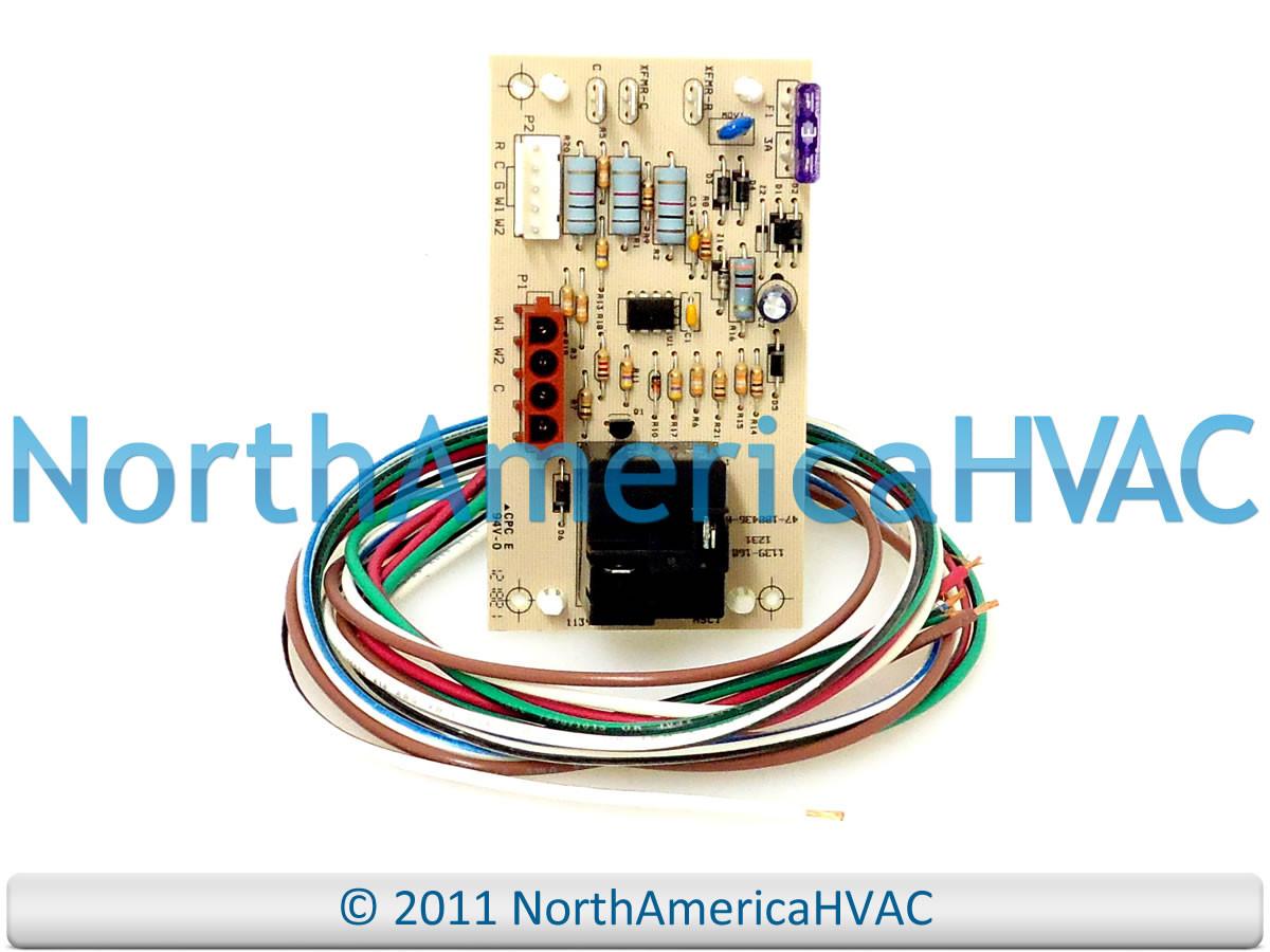 Rheem Ruud Weather King Furnace Air Handler Control Circuit Board 47 Ignitor Gas 100436 84d Price 4499