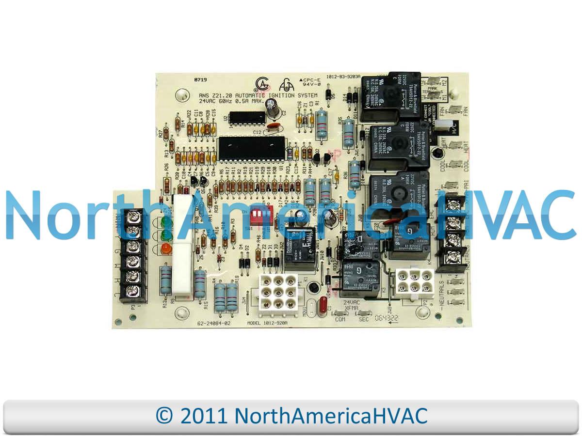 Rheem Ruud Weather King Furnace Fan Control Board 62 22737 08 Ugph Wiring Diagram 10