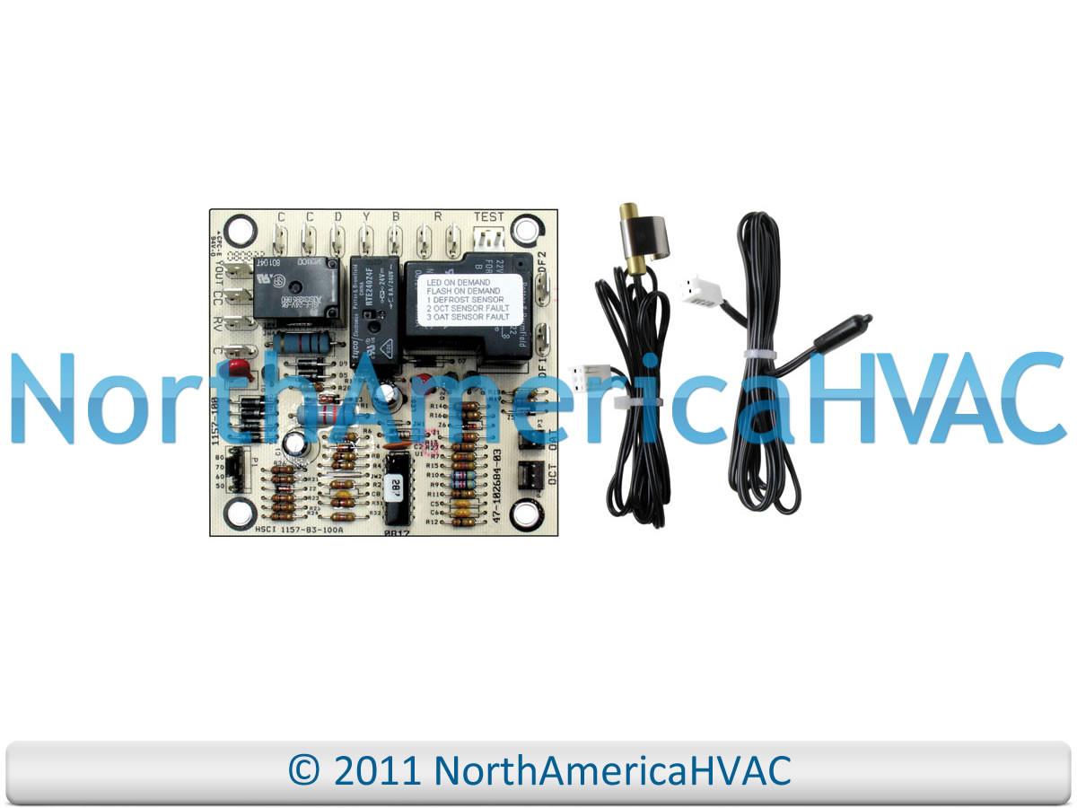 Ruud Defrost Control Wiring Wire Center Aluminiumledstripcircuitboardjpg Rheem Board Sensor 47 102684 83 North Rh Northamericahvac Com Fedders Heat Pump