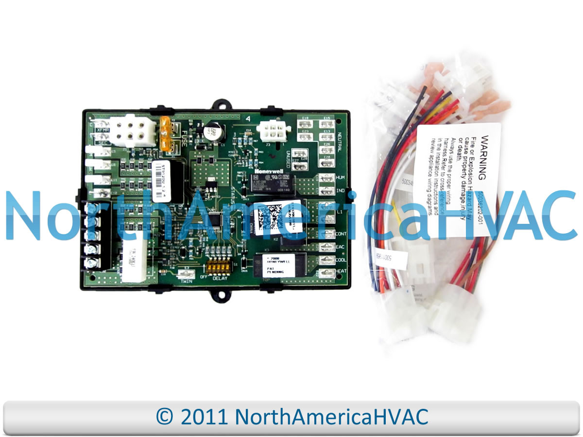 Lennox Armstrong Ducane Furnace Control Circuit Board 45692 001 Wiring Harness 45692001 R45692001 R45692