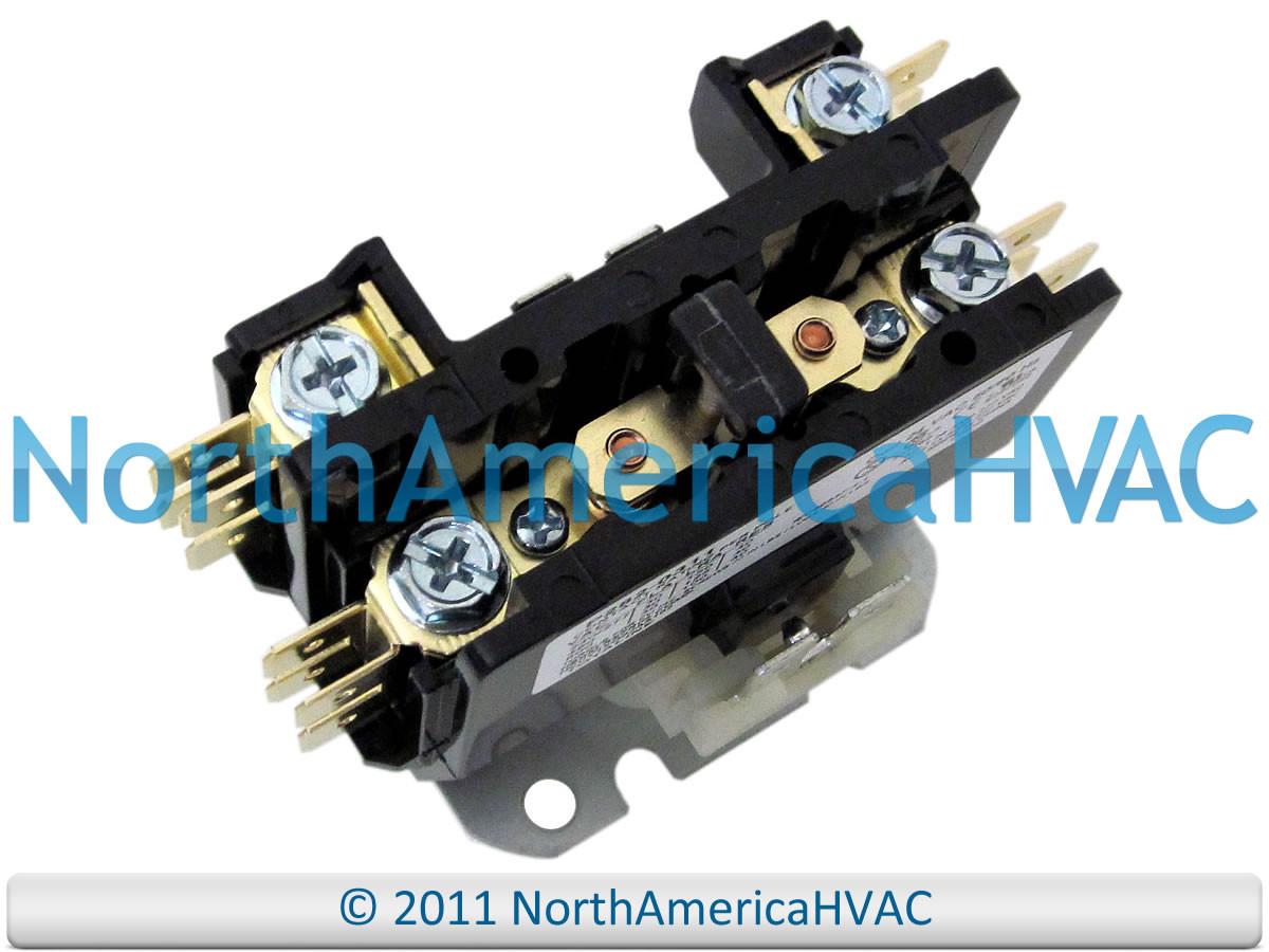 Lennox Armstrong Ducane Condenser Contactor Relay 65c69 65c6901 Home A C Wiring Larger More Photos