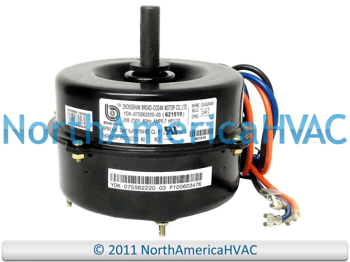 Intertherm Nordyne Miller Fan Motor 1 10 Hp 621865 North America Hvac Relay Wiring Diagram 621865r 6218650