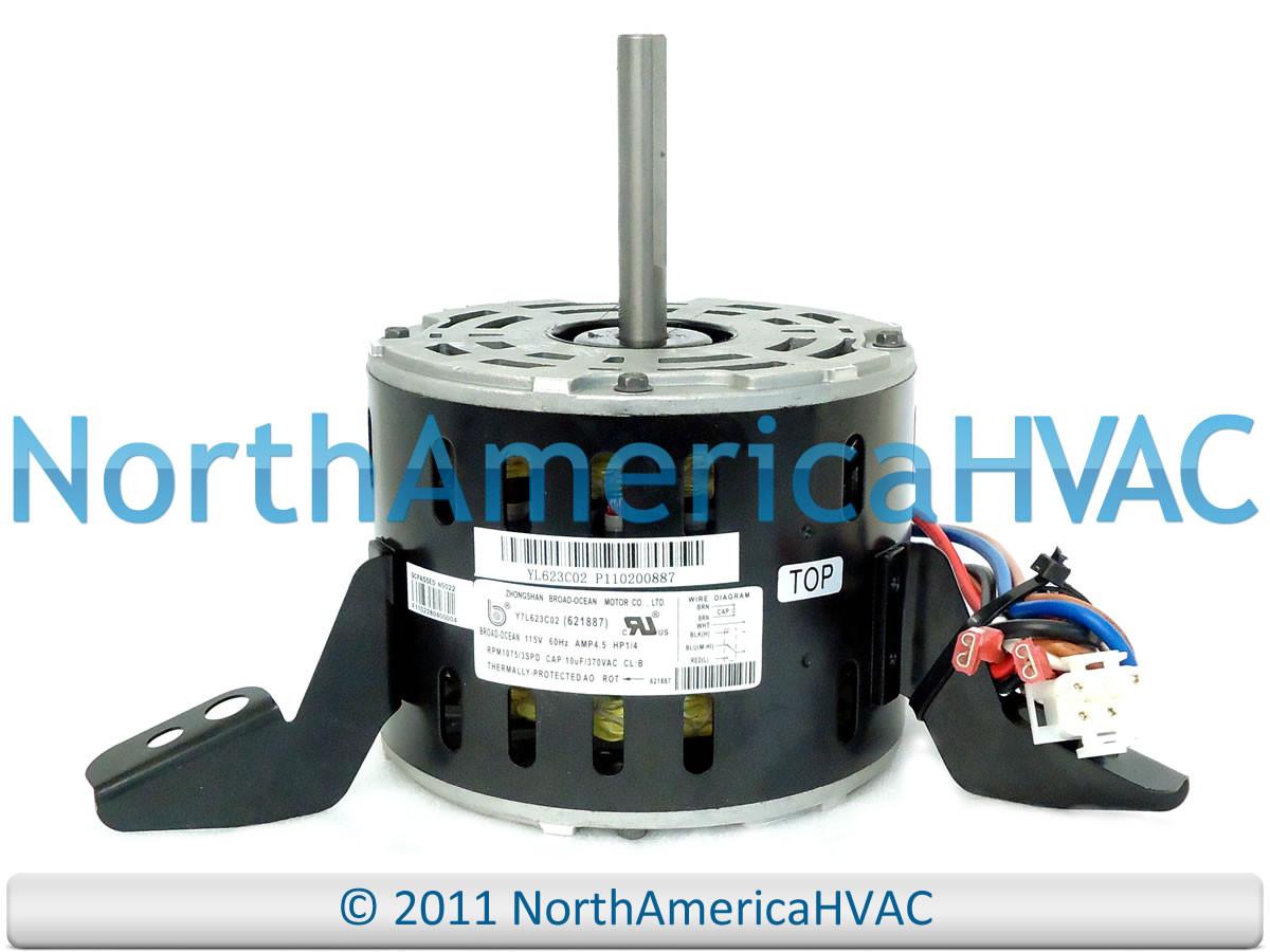 Intertherm Nordyne Miller Furnace Blower Motor 1 4 Hp 621887 6218870 Wiring Diagram 621887r