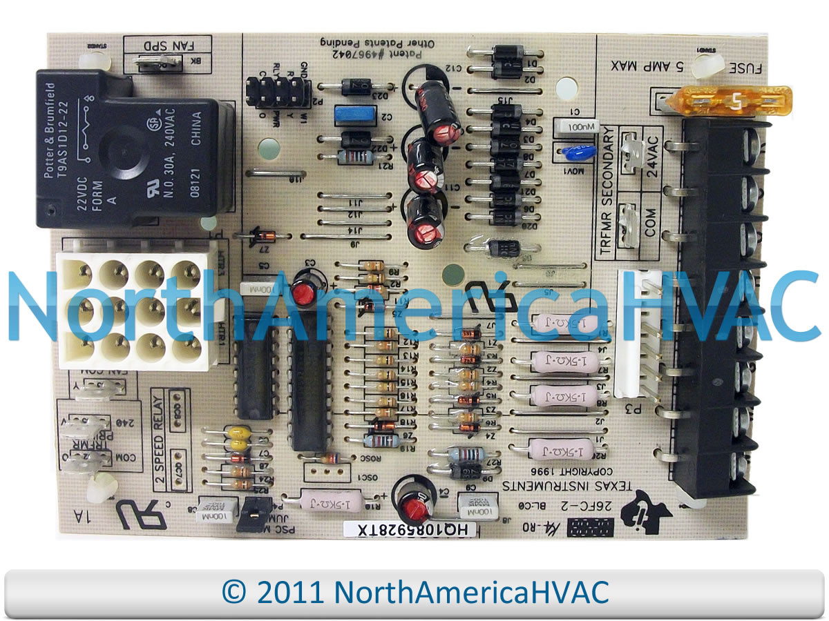 Icp Texas Instruments Fan Control Circuit Board 26fc 1 North Com Pth Used In Amana Larger More Photos