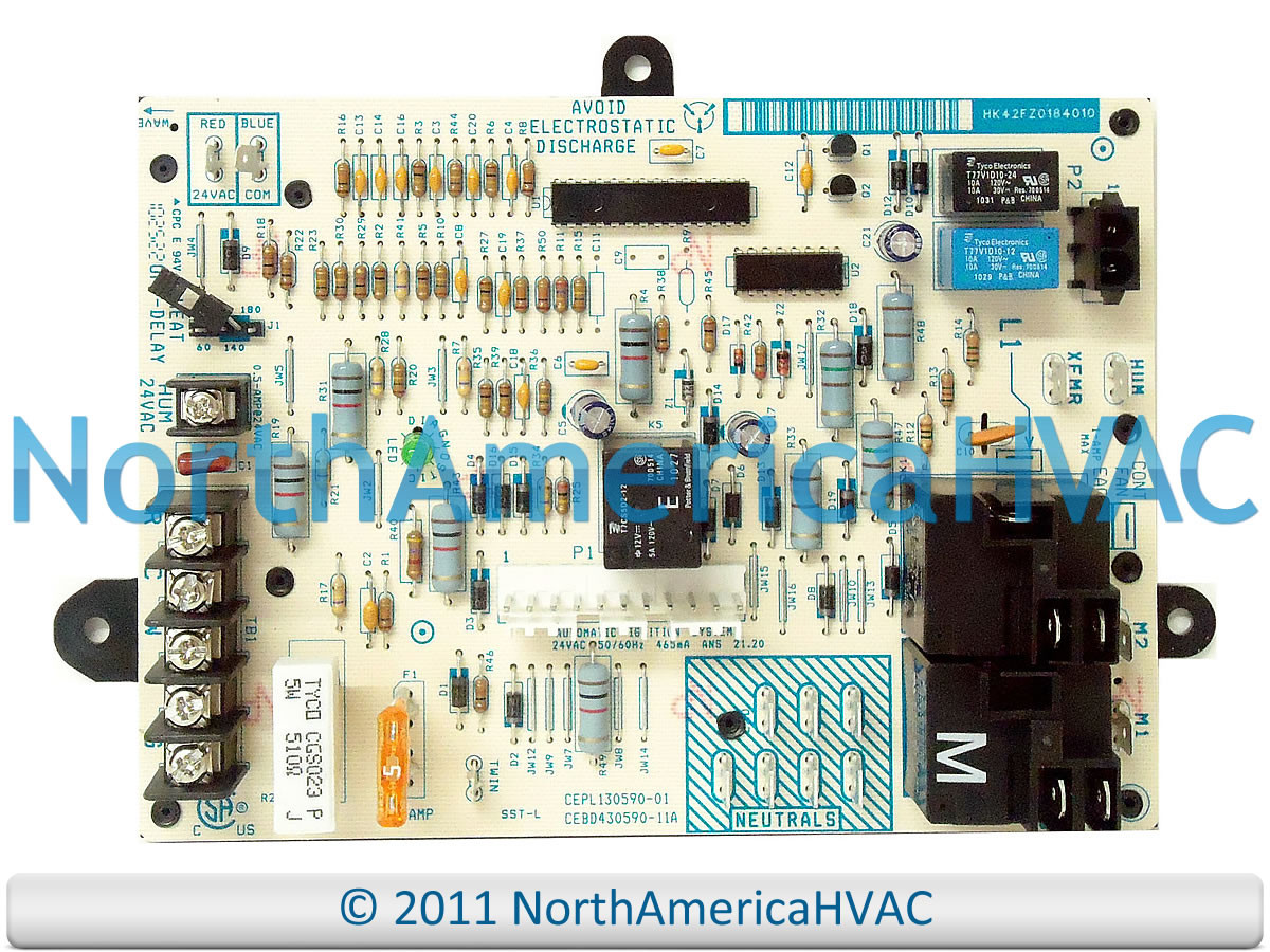 Icp Furnace Control Circuit Board Hk42fz018 1172550 North America Replacement Household Boards