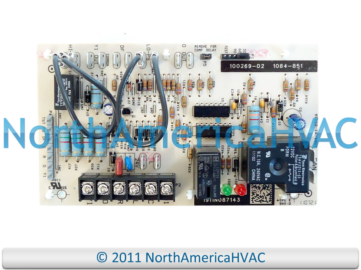 Honeywell Lennox Armstrong Ducane Defrost Control Board 1084 851 Wiring Diagram 83 8513a