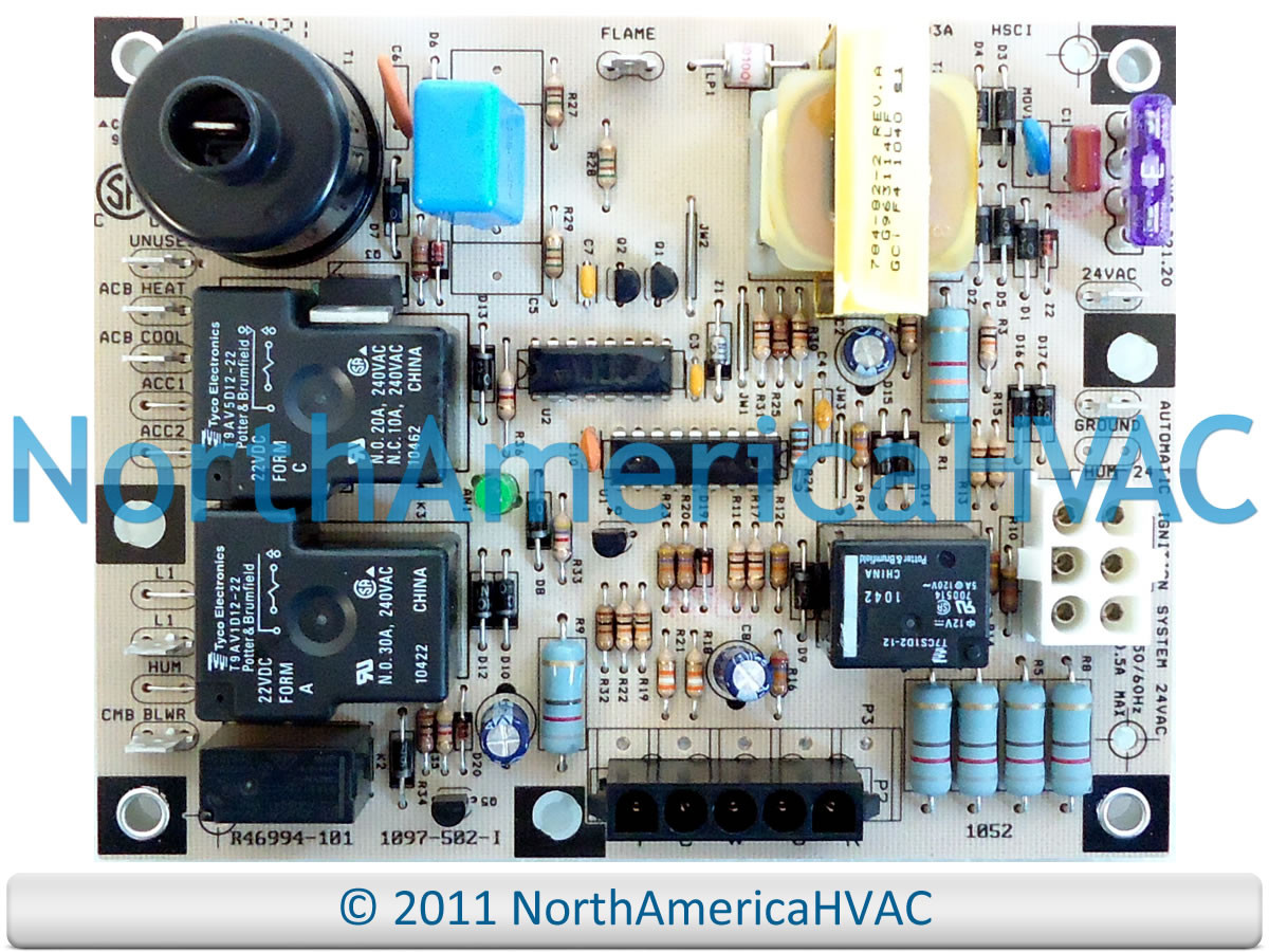 Honeywell Lennox Armstrong Ducane Control Circuit Board 1097 502 I Furnace Main Rheem Ruud Heat 83 503a