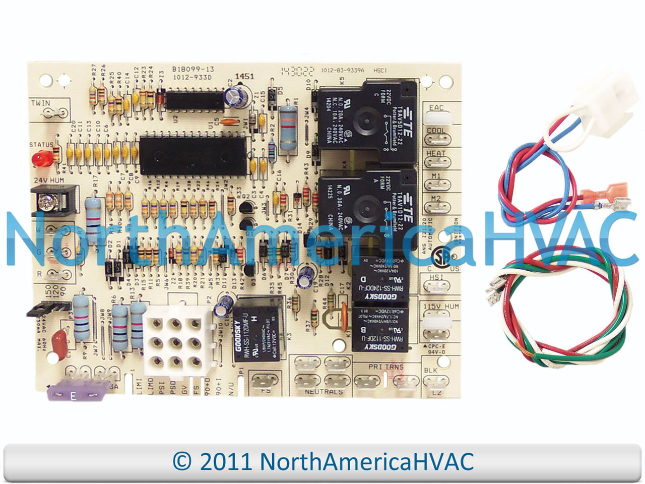 Oem Upgraded Replacement For Janitrol Furnace Control Circuit Board Boards B1809923s Goodman