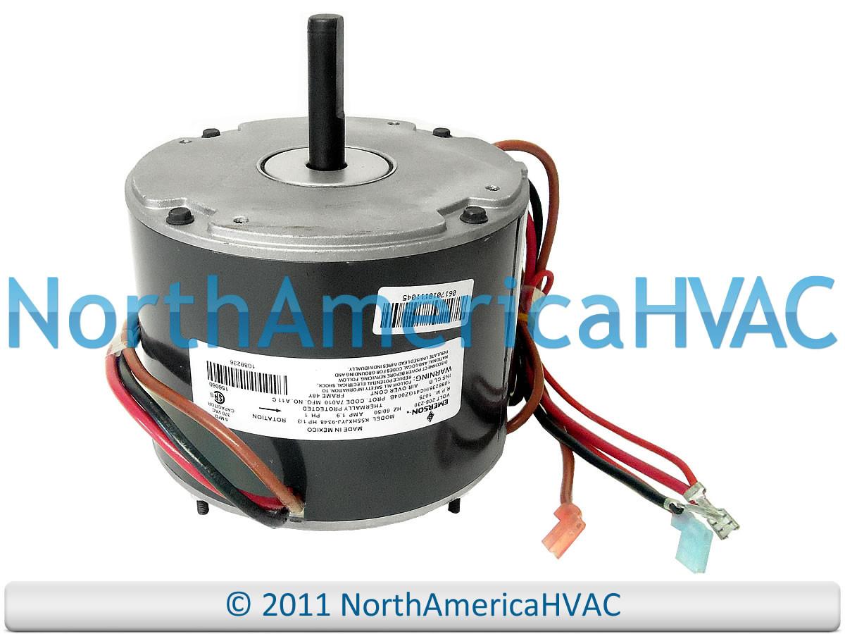 Emerson Icp Heil 1 3 Condenser Fan Motor K55hxjyj 9348 North Wiring Harness Larger More Photos