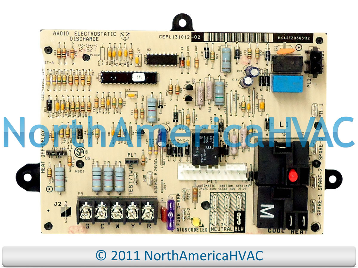 Payne Furnace Control Board Wiring Diagram Electrical Diagrams Circuit Carrier Bryant Cepl131012 02 Intertherm Electric