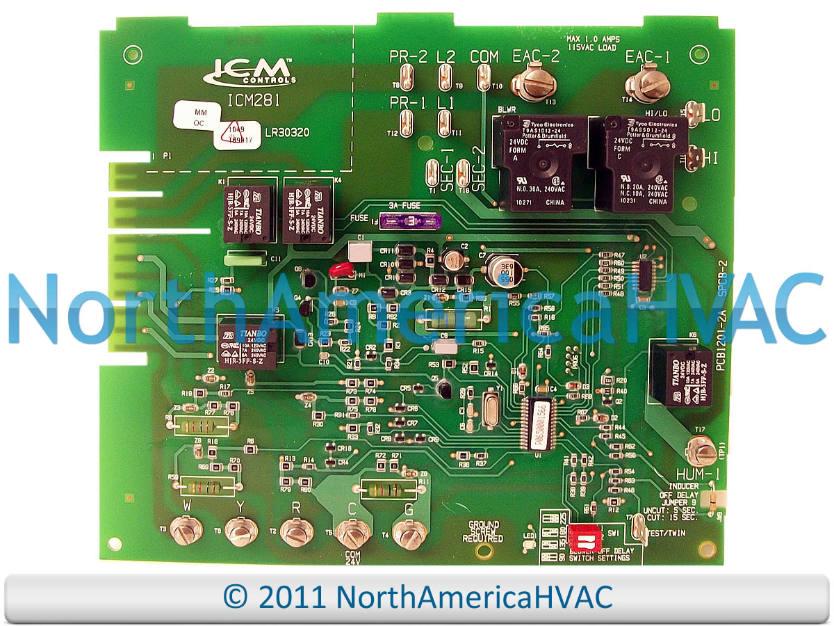 Carrier Bryant Payne Furnace Control Board Hh84aa016 North America Amana Refrigerator Wiring Diagram On Oil Older