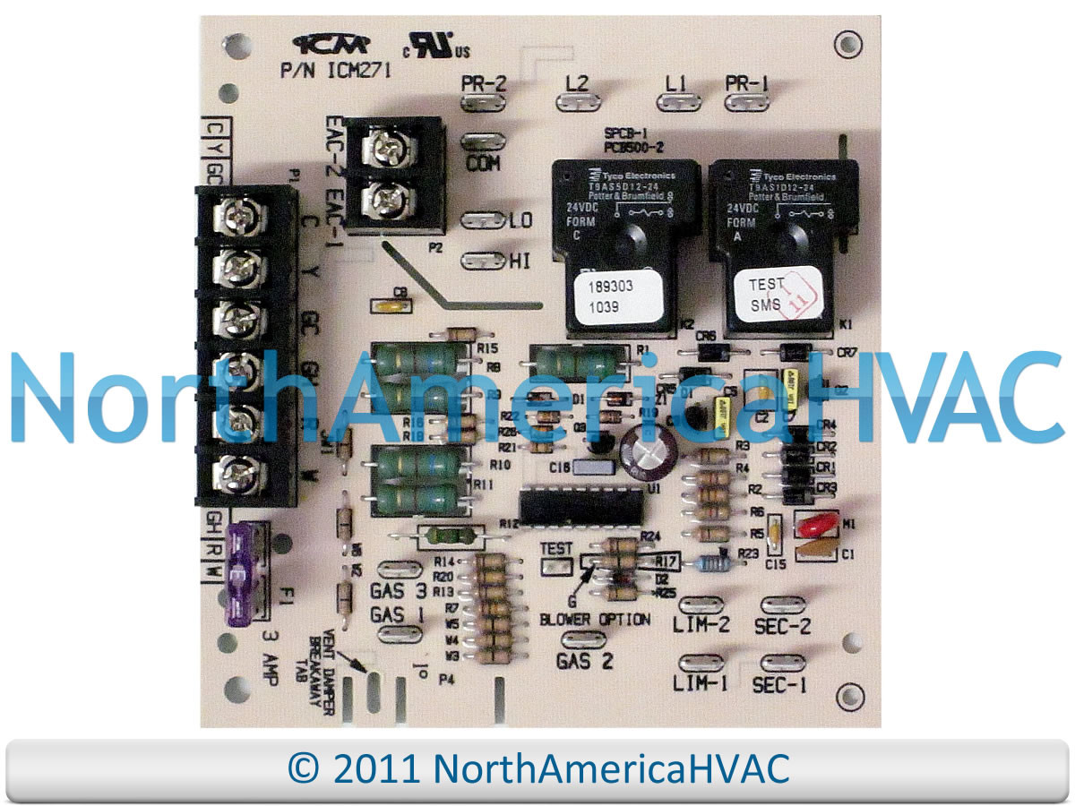 carrier bryant payne furnace blower fan control circuit board rh northamericahvac com