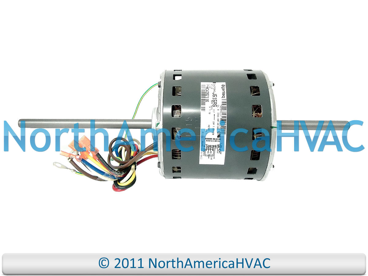 Carrier Bryant Double Shafted Blower Motor Hc43sz115a North Wiring