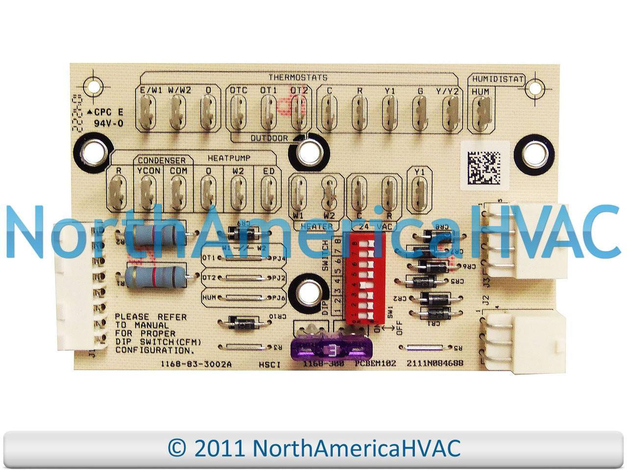 Oem Goodman Amana Furnace Ecm Blower Control Board Pcbem102 Wiring Diagram Pcbem102s
