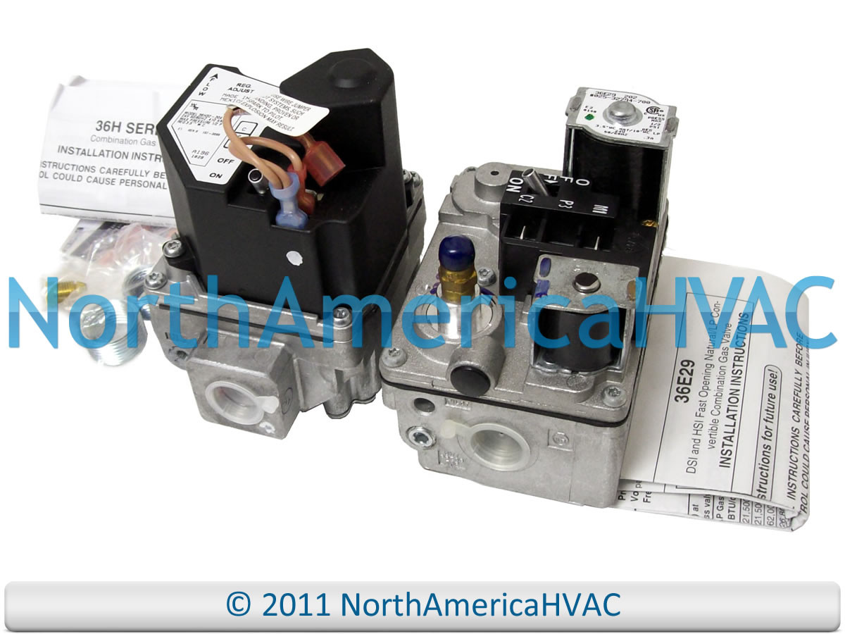 Carrier Bryant Payne White Rodgers Furnace Gas Valve EF32CW205 EF32CW205A