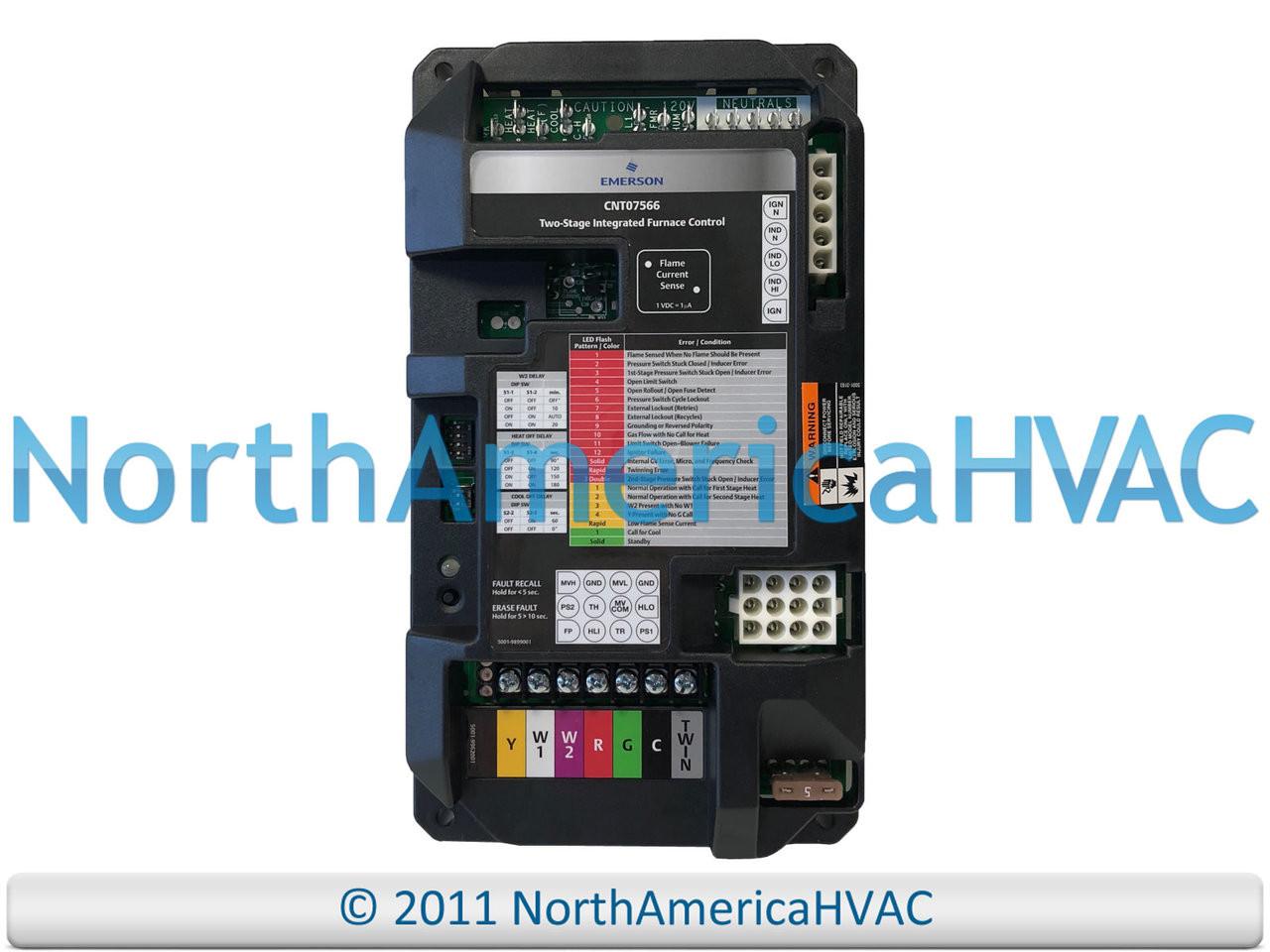Oem Trane American Standard Furnace Control Circuit Board Kit17858 Rheem Ruud Ignitor Gas