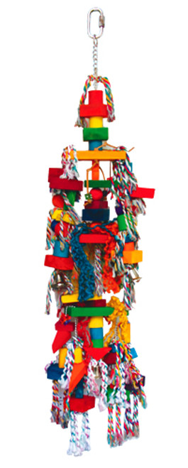 1326 Triangle Tower is a monster of a toy for that serious chewer in your family.
