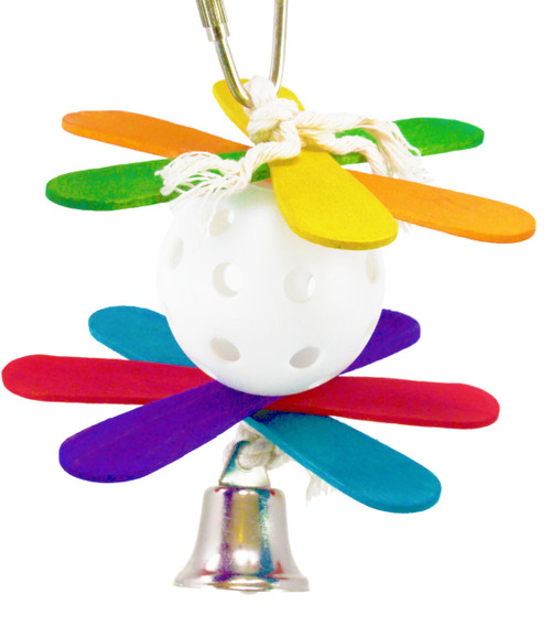 50022 Whiffed is a colorful delight for your small cherished friend, he will welcome this whimsical toy with open wings.