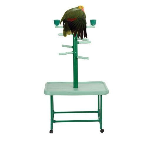 parrot bird stand pp102 great playstand for all cockatiels conures and other medium