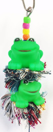 1085 Duo frog plucker is a colorful and fun toy that your small feathered friends will just love.