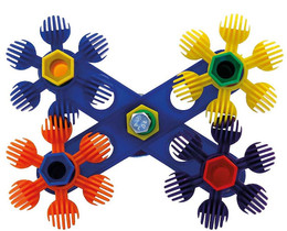 00892 Spin Cycle is a fun interactive toy for both you and your medium-sized feathered friend.