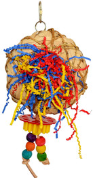 00905 Bird's Nest is chewable foraging fun for your small to medium-sized feathered friends.