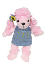 """Baby Animal Outfit 10.5""""- Dress Chambray"""