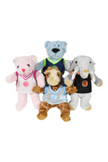 """Baby Animal Outfit 10.5"""" - Basketball Jerseys- assortment of four"""