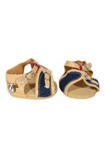 Shoes- Sandals- Tan & Denim