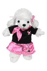 50s Pink Poodle Outfit