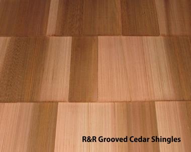 R Amp R Grooved Cedar Shingles Total Wood Store