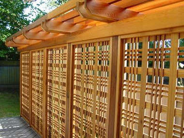 Catalina Lattice Panel Packs Total Wood Store