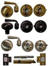 Storm door Lock and Lever Handle Set (Ives)