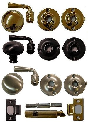 Storm Door Lock And Lever Handle Set Ives Total Wood Store