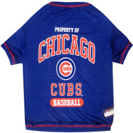 Chicago Cubs MLB Pet Tee Pets First