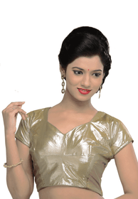 Light Gold Designer Blouse
