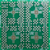 "Schmartboard|ez QFN, 12 Pins to 24 Pins .5mm Pitch & .65mm Pitch, 2"" x 2"" Grid (202-0016-01)"