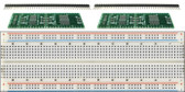 Schmartboard 2 Pack of Schmartboard|ez 0.65mm Pitch SOIC to DIP adapter Plus a Free Breadboard (204-0006-31)