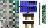 Schmartboard|ez .65mm Pitch SOIC Raspberry Pi Add-on Board Kit (710-0010-06)