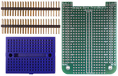 BeagleBone Through Hole Prototyping Cape (Board with headers and breadboard) (205-0001-02)
