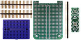 BeagleBone .5mm Pitch, 12 & 24 Pin  QFP/QFN  Prototyping Cape Kit (205-0001-15)
