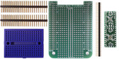 BeagleBone .5mm Pitch, 16 & 20 Pin  QFP/QFN  Prototyping Cape Kit (205-0001-16)