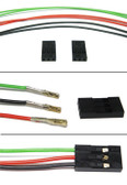 "Schmartboard Qty. 4 three prong female to female cable harness with six 12"" cables (920-0079-01)"