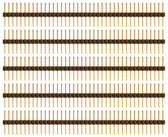 "Qty. 5 0.1"" Spacing Extra Long Single Row Headers (920-0102-01)"