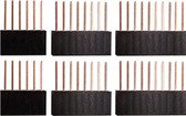 Qty. 2 of each, Six, Eight and Ten Pin Stackable Headers for Arduino (920-0088-01)