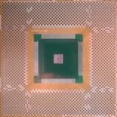 "Clearance Schmartboard|ez QFP, 120 - 144 Pins 0.8mm Pitch, 4"" X 4"" Grid (202-0030-01c)"