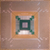 "Clearance Schmartboard|ez QFP, 112 - 160 Pins 0.65mm Pitch, 4"" X 4"" Grid (202-0031-01c)"