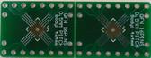 Qty. 2 Schmartboard |ez .5mm Pitch 16 Pin QFP/QFN to DIP Adapter (204-0026-01)