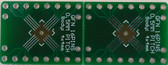2 Schmartboard|ez .5mm Pitch, 16 Pin QFP/QFN to DIP With a Breadboard (204-0026-31)